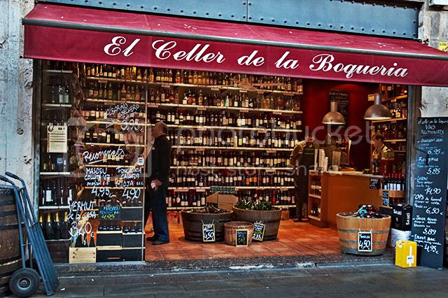 Barcelona Wine Stores: El Celler de la Boqueria [enlarge]