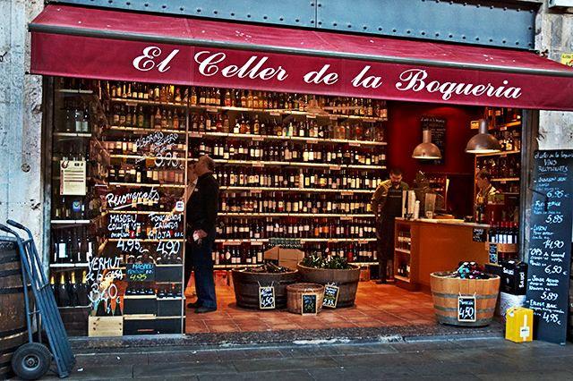 Barcelona Wine Stores: El Celler de la Boqueria [enlarge]