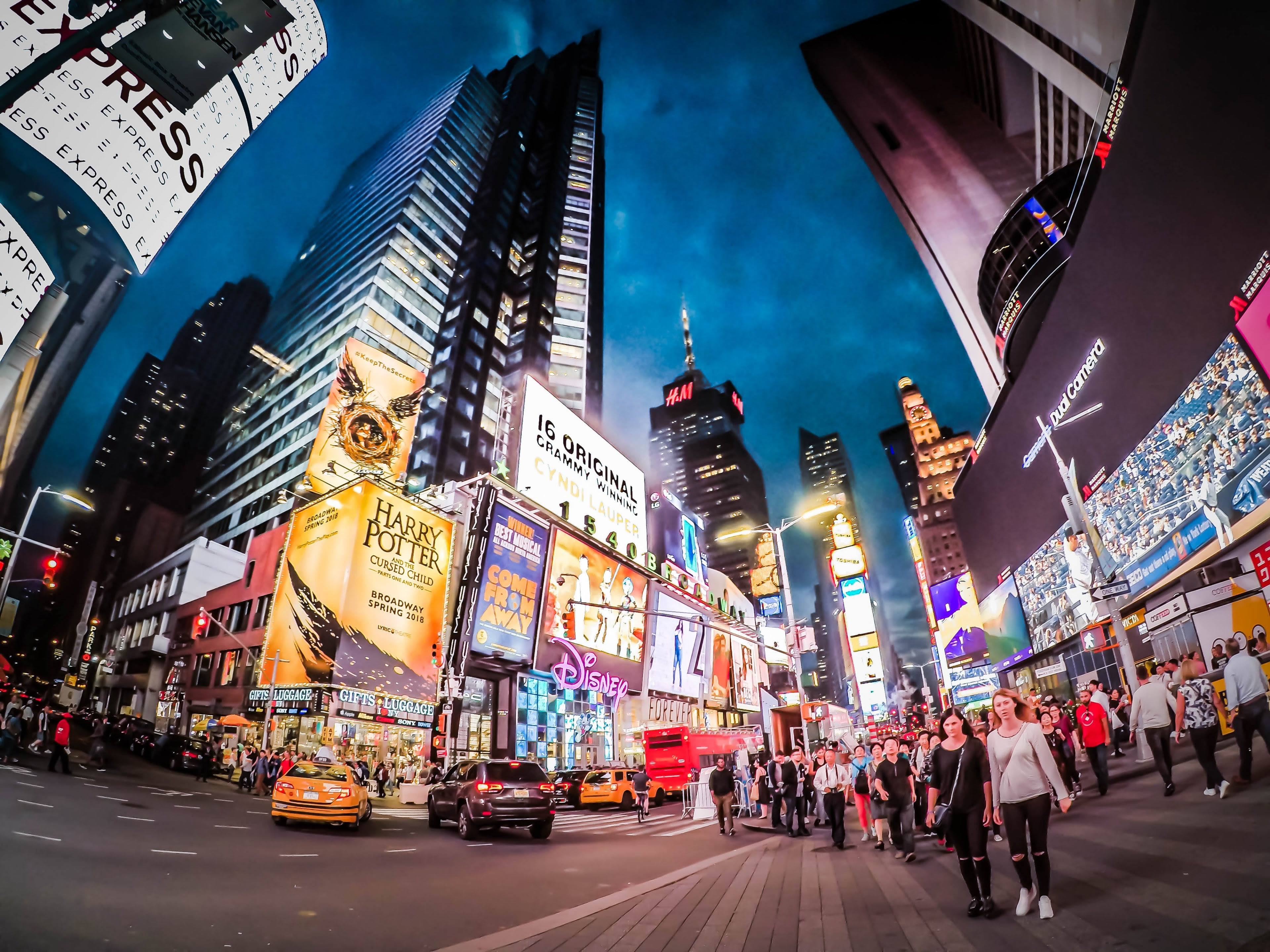 Time Square New York 4k Wallpaper And Background