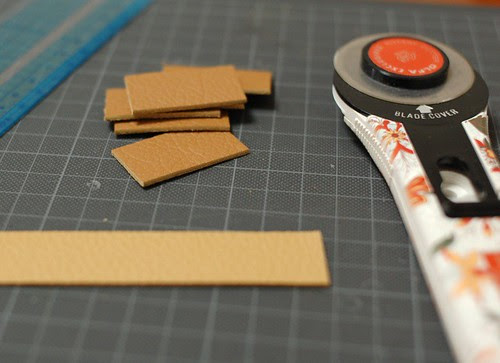 How to make a leather tag 1
