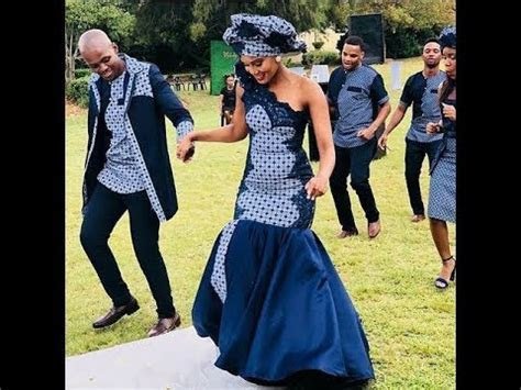 Hottest Popular #Shweshwe Dresses 2018: Beautiful and