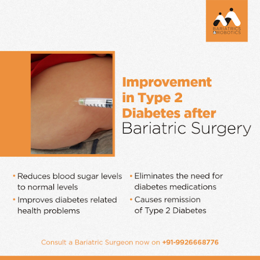 Improvement in Type 2 Diabetes after Bariatric Surgery