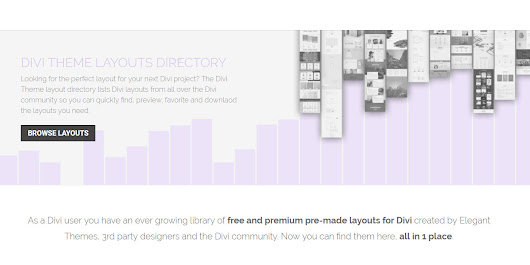Divi Theme Layouts Directory