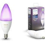 Philips Hue White and color ambiance - LED light bulb - shape: B39 - E12 - 6.5 W - 16 million colors - 2200-6500 K