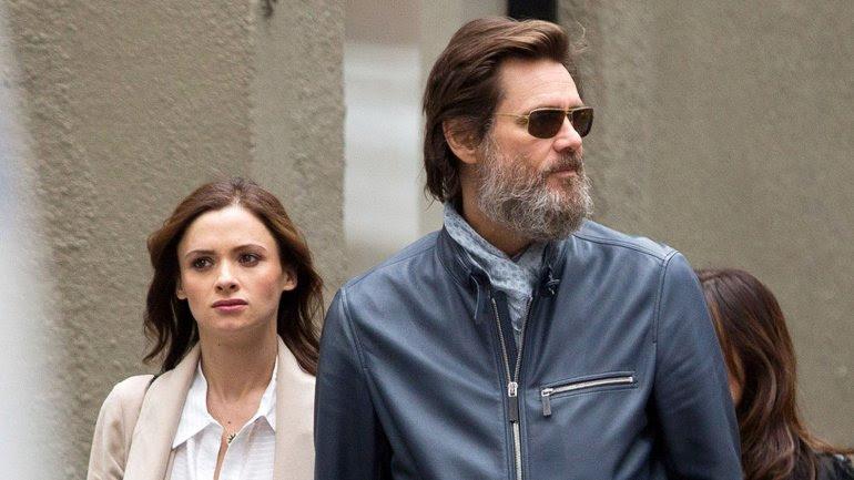 Cathriona White Y Jim Carrey el 18 de mayo en Nueva York