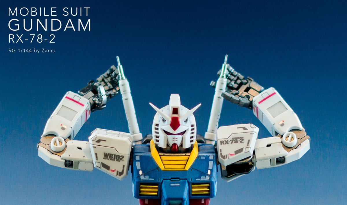 Rg 1 144 Rx 78 2 Gundam Modeled By Zams Indonesia Photoreview