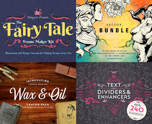 The Premium Quality Vectors Bundle - Design Cuts