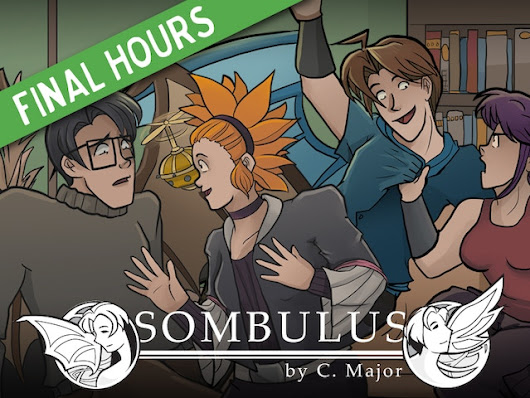 Sombulus - A Fantasy Adventure Comic (2015 print run) by Christina Major — Kickstarter