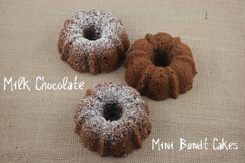 Milk Chocolate Mini Bundt Cakes - Tuesdays with Dorie