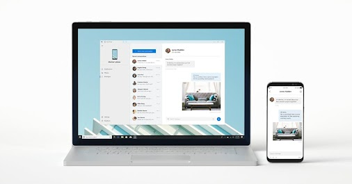 Windows 10 users can now try Microsoft's Your Phone app to mirror phone content to a PC  Available for...