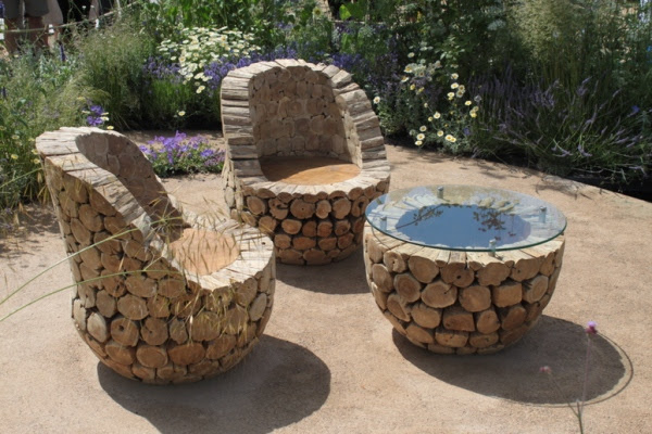 Handmade Furniture Design Ideas, Rustic Outdoor Furniture