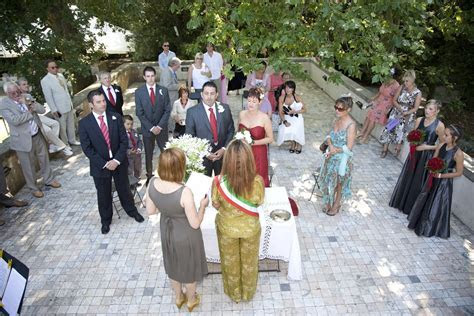Outdoor wedding in a splendid Viareggio villa   2008
