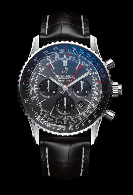 Breitling Navitimer 1 B03 Rattrapante 45 Boutique Edition Watch