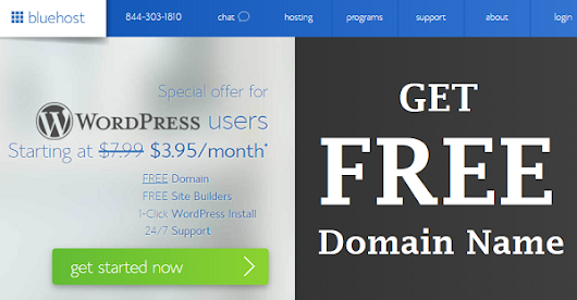 FREE Domain Name Registration with BlueHost.com - Best DEAL Ever
