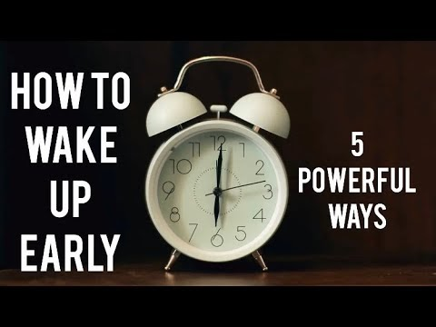 Simplest way to wake up early | How to wake up early in the Morning # Mo...