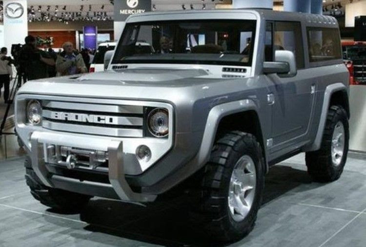 2017 Ford Bronco - It's confirmed! News, Review and Rumors ...