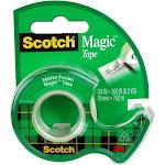 Scotch Magic 810 - Office tape - 0.75 in x 25 ft - 1 in core - matte transparent tape