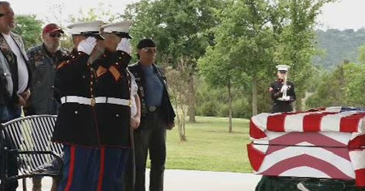 Homeless veteran gets honorable burial thanks to public