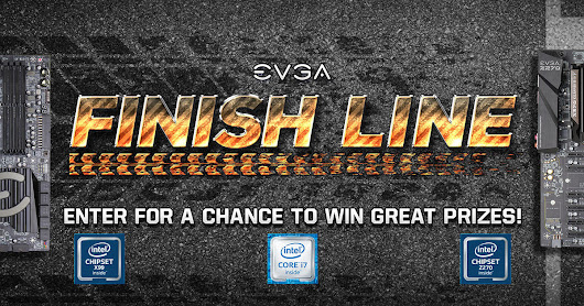EVGA - Articles - Finish Line Social Media Event