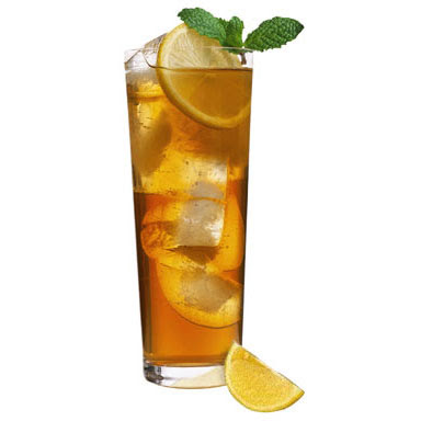 use lemon for decoration for long island iced tea