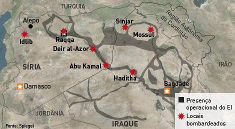 Infografia Bombardeamentos