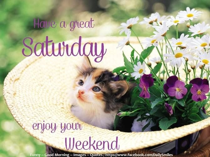 Have A Great Saturday Enjoy Your Weekend Pictures Photos And