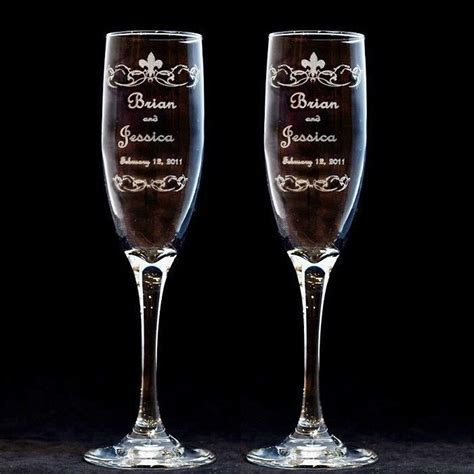 1000  ideas about Engraved Champagne Flutes on Pinterest