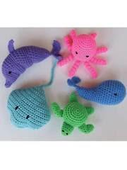 Crochet Beach Toys