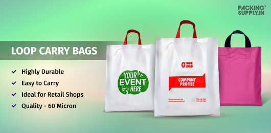 Retail Carry Bags - Branding Your Business Through Plastic Carrier Bags