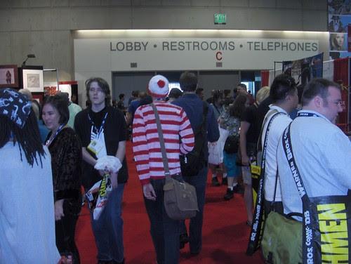 Hey, I found Waldo!
