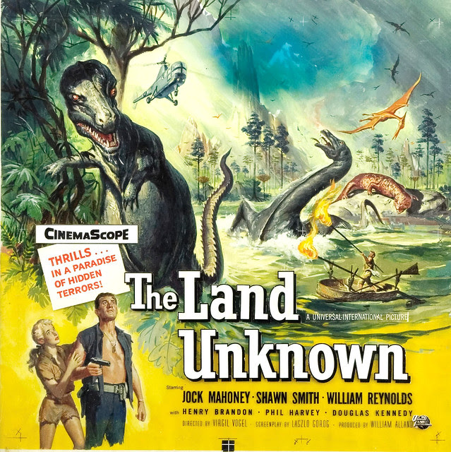 Reynold Brown - The Land Unknown, original art, 1957