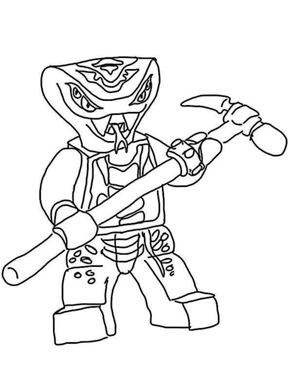 ausmalbild ninjago lloyd  ausmalbild kostenlos