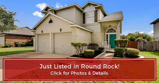 JUST LISTED! 17501 Salt Flat, Round Rock, Texas