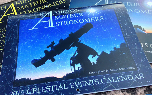2016 Celestial Events Calendar Submissions - Hamilton Amateur Astronomers