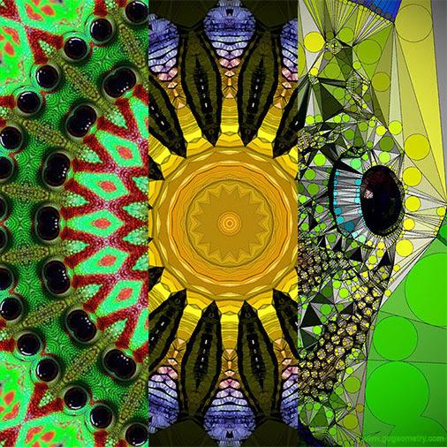 Geometric Art: Gecko Art Index.
