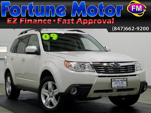Used 2009 Subaru Forester 2.5X Limited for Sale in Waukegan IL 60085 Fortune Motor Group Inc.
