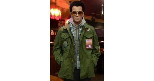 True Romance Christian Slater Movie Green Jacket | America Suits