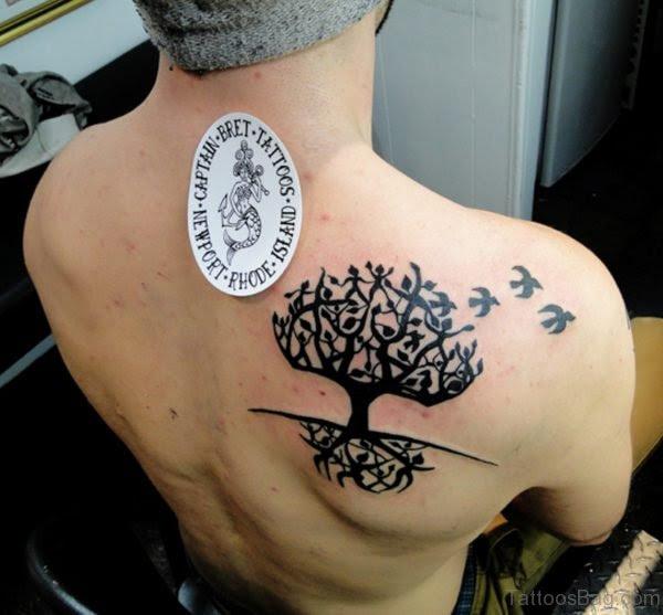 44 Celtic Tree Tattoos On Back
