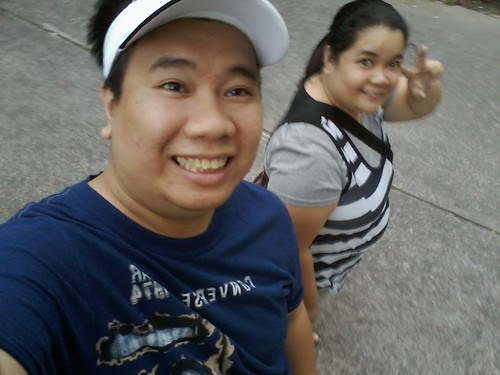 Me and sis going to sm supermall by popazrael