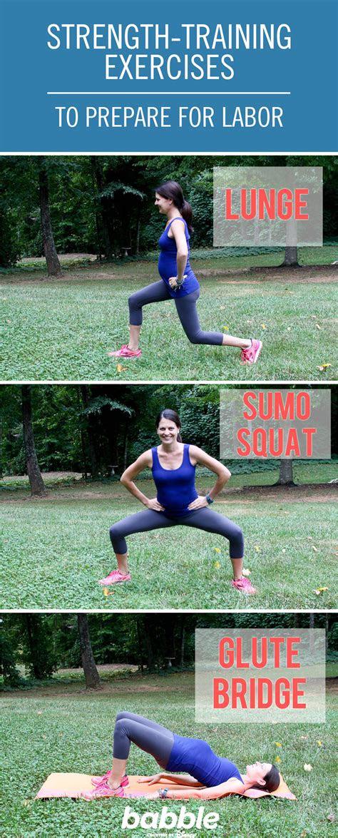 strength training exercises     pregnant