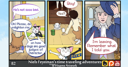 Niels Feynman's time traveling adventures (english) :: Page 82. | Tapas