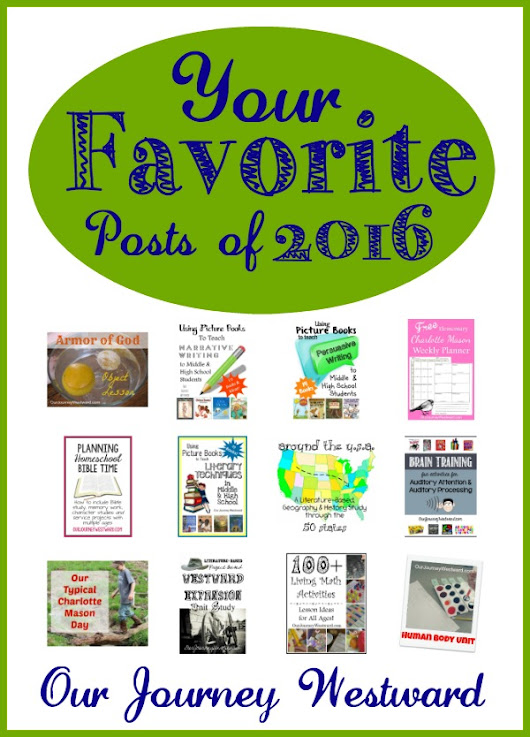 Your Favorite Posts from 2016