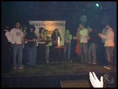 Festejo por los 10 años de Morena Cantero Jrs. Año 2005