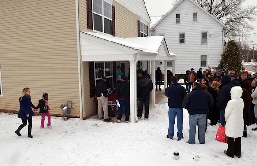 Montgomery County Habitat for Humanity dedicates new twin homes in Hatfield