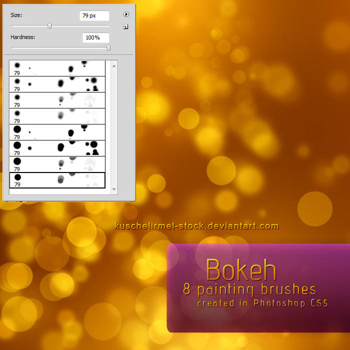 Free Photoshop Brush Sets Bokeh Brushes