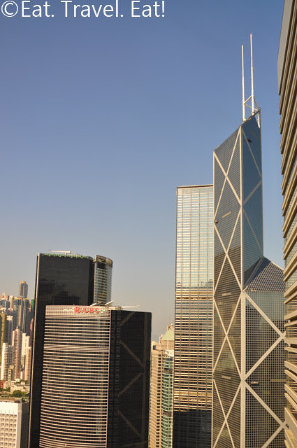 Island Shangri-La Library View Bank of China Tower