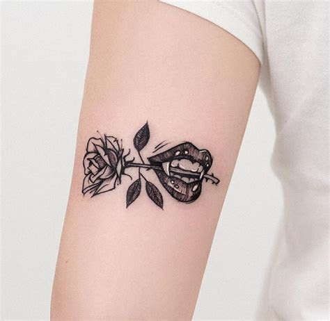 small rose tattoo tumblr