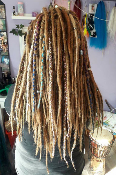 Flechtwerk Dreadlocks Synthetic Dreads Rastazöpfe Congas