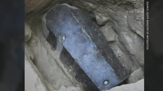 CTV News Channel: Mysterious sarcophagus opening