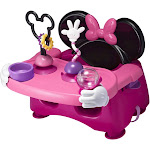 The First Years Disney Baby Minnie Mouse Helping Hands Feeding & Activity Seat, Pink